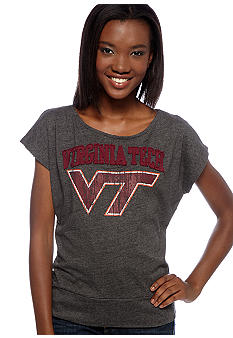 Pressbox Virginia Tech Dolman Sleeve Tee