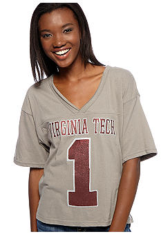 Pressbox Virginia Tech Zena Crop Tee