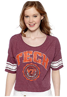 Pressbox Virginia Tech Super Soft Crew Neck Tee