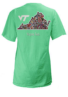 ROYCE Virginia Tech University Buffy Screen Print Tee