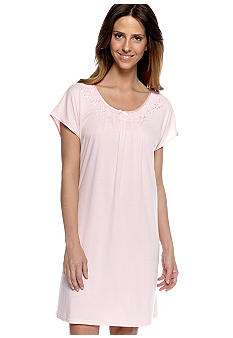 Miss Elaine Plus Size Sofiknit Sleep Shirt