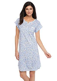 Miss Elaine Luxe Knit Sleep Shirt