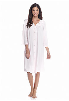 Miss Elaine Nylon Tricot Short Robe
