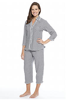 Miss Elaine Seersucker Pajama Set