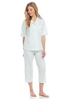 Miss Elaine Seersucker Pajama Set