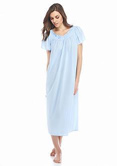 Miss Elaine Long Tricot Nylon Gown