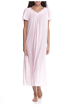Miss Elaine Long Tricot Nylon Gown