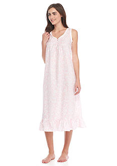 Miss Elaine Plisse Long Gown