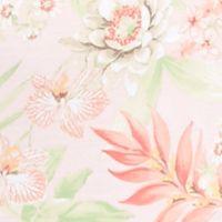 Women's Chemise Sleepwear: Coral/White Miss Elaine Plus Size Printed Sleep Dress