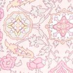 Bathrobes For Women: Rose Medallion Miss Elaine Medallion Interlock Long Zip Robe