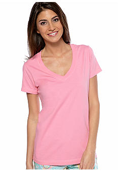 Lauren Ralph Lauren V-Neck Sleep Tee