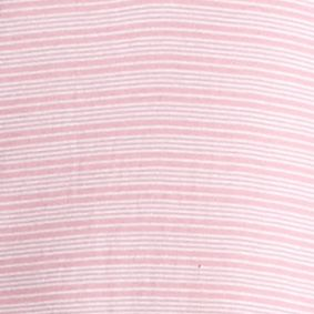 Designer Pajamas for Women: Pink Stripe Lauren Ralph Lauren Stripe Henley Sleepshirt