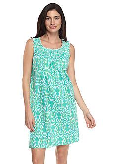 Lauren Ralph Lauren Smocked Short Gown