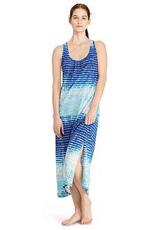 Lauren Ralph Lauren Plus Size Knit Maxi Gown