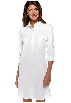 Lauren Ralph Lauren Solid Knit Sleep Shirt