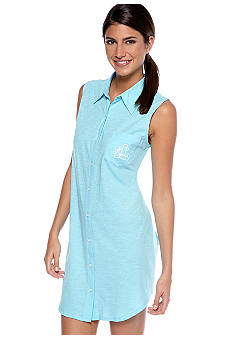 Lauren Ralph Lauren Sleeveless Sleep Shirt