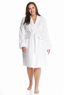 Lauren Ralph Lauren Plus Size Shawl Wrap Robe