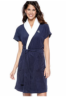 Lauren Ralph Lauren Essentials Short Terry Robe