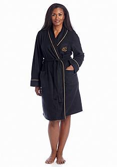 Lauren Ralph Lauren Plus Size Fleece Robe