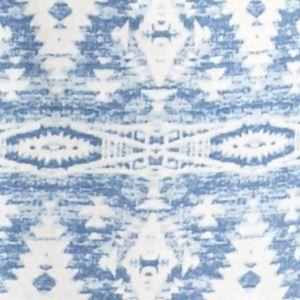 Nightgowns for Women: Cresent Blue Lauren Icon Notch Collar Knit Sleepshirt