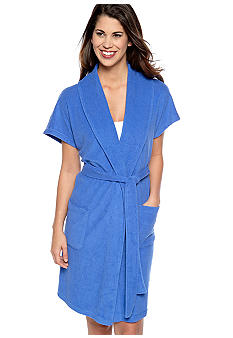 Lauren Ralph Lauren Essential Short Shawl Collar Robe
