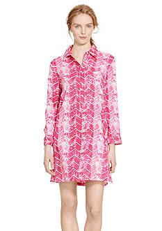 Lauren Ralph Lauren Long Sleeve Lawn Sleepshirt