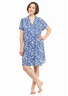 Lauren Ralph Lauren Plus Size Short Sleeve Sleepshirt