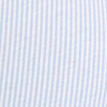 Designer Pajamas for Women: Blue White Stripe Lauren Ralph Lauren Print Logo Pants