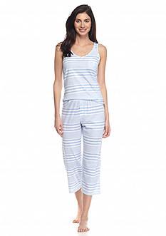 Lauren Ralph Lauren Knit Tank Capri Pajama Set