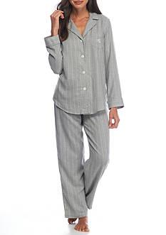 Lauren Woven Striped Pajama Set