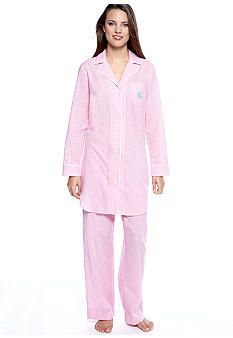 Lauren Ralph Lauren Southampton Meadow Lane Woven Pajama Set