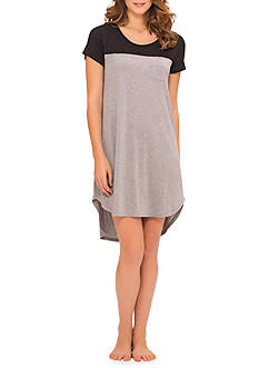 Ellen Tracy Colorblock Sleep Tee