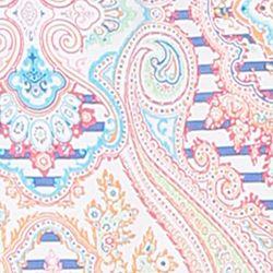 Designer Pajamas for Women: Ivory Pink Ellen Tracy Flutter Sleeve Top
