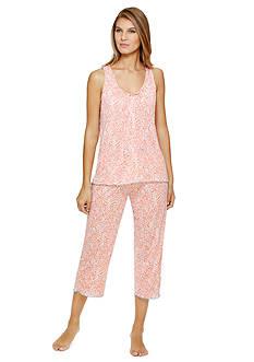 Ellen Tracy Tank Crinkle Pajama Set