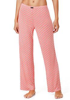 Ellen Tracy Printed Long Pants