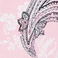 Ellen Tracy Women Sale: Pink Novelty Ellen Tracy Long Print Palazzo Pant