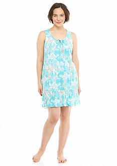 Ellen Tracy Plus Size Crinkle Ballet Gown