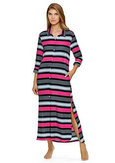DKNY Long Sleeve Shirt Dress