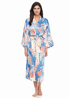 N Natori Dreamscape Long Wrap Robe
