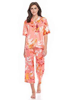 N Natori Imperial Garden Short Sleeve Pajama Set