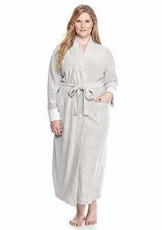 N Natori Plus Size Long Heather Robe