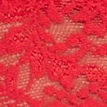 Junior Bras: Red Hanky Panky Stretch Lace Soft Bra - 113