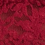 Average Figure Bra: Cranberry Hanky Panky® Stretch Lace Soft Bra