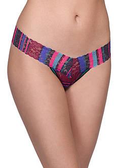 Hanky Panky Winter Stripe Low Rise Thong