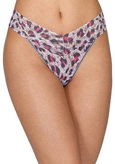 Hanky Panky® Shadow Cat Original Rise Thong - 3S1181