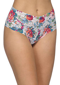 Hanky Panky English Garden Retro Thong - 3T1921