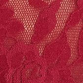 Plus Size Panties: Cranberry Hanky Panky® Plus Size Original Rise Thong - 4811X