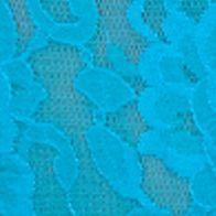 Luxury Lingerie: Island Blue Hanky Panky® Signature Lace Original Rise Thong - 4811