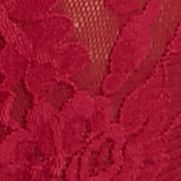 Junior Panties: Cranberry Hanky Panky® Signature Lace Original Rise Thong - 4811
