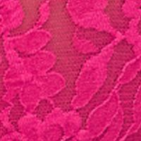 Thongs for Women: Ticked Pink Hanky Panky® Signature Lace Original Rise Thong - 4811